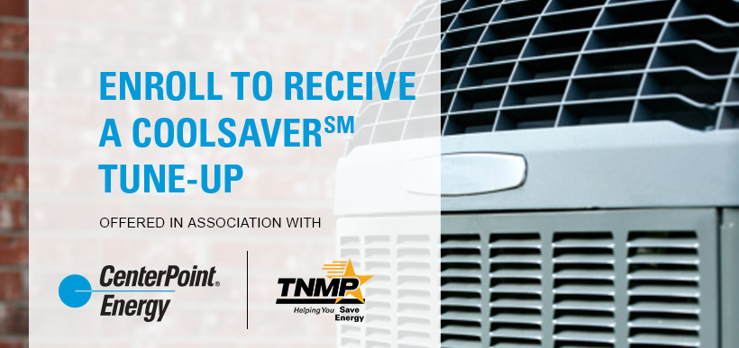 Enroll to Receive a CoolSaverSM Tune-up