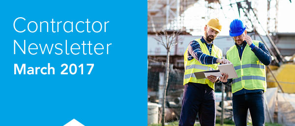 Contractor Newsletter March 2017